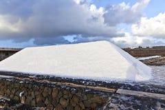 Salt refinery, Saline from Janubio, Lanzarote Royalty Free Stock Photo