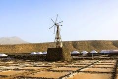 Salt refinery, Saline from Janubio, Stock Images