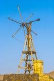 Salt refinery, Saline from Janubio, Stock Image