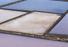 Salt refinery, Saline from Janubio Royalty Free Stock Image