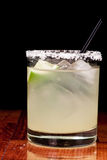 Salt Rim Margarita Royalty Free Stock Photo