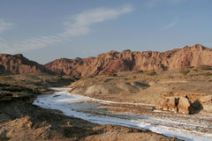Salt river Royalty Free Stock Photography