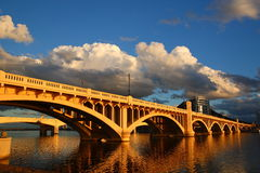 Salt river bridge Royalty Free Stock Photography