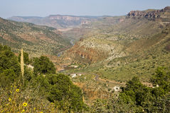 Salt River Canyon Royalty Free Stock Image