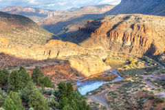 Salt River Canyon Royalty Free Stock Photos