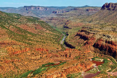 Salt River Canyon Royalty Free Stock Images