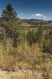 Salt River Durchlauf Lander schnitt Wyoming ab lizenzfreies stockbild