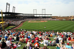 Salt River Fields Royalty Free Stock Photo
