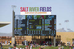 MLB Cactus League Spring Training Game Stock Images