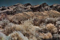Salt River Mountains Stock Photography