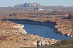 Salt River Projekt-Navajo som frambringar stationen arkivfoto