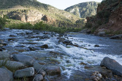 Salt River Rapids closeup Royalty Free Stock Image