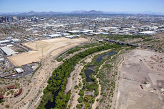 Salt River Riparian Area Royalty Free Stock Photography