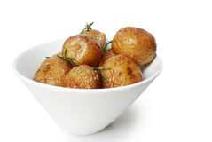 Salt Roasted Potatoes Stock Photography