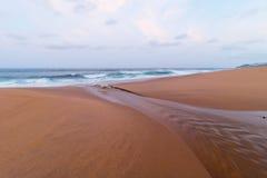 Salt Rock Beach Stock Image