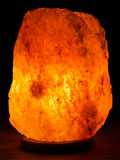 Salt Rock Lamp Stock Photos