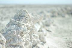 Salt rocks Royalty Free Stock Photo