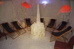 Salt room. Royalty Free Stock Photo