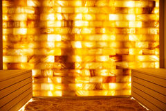 Salt room in spa-centre. Photo of Salt room in spa-centre Royalty Free Stock Images