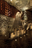 Salt sculpture Nicolaus Copernicus in Wieliczka Stock Photo