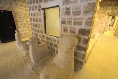 Salt sculptures, Salar De Uyuni Bolivia Royalty Free Stock Images