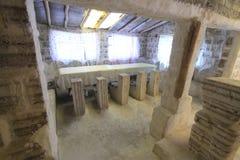 Salt sculptures, Salar De Uyuni Bolivia Stock Photography