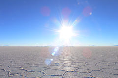 Salt See Lizenzfreies Stockbild