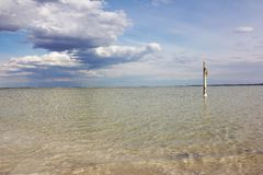 Salt See Baskunchak Lizenzfreie Stockbilder