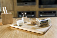 Salt shaker ans sugar Royalty Free Stock Images