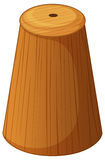 Salt shaker made of wood Stock Images
