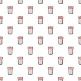 Salt shaker pattern seamless Stock Images