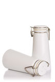 Salt shaker and pepper shaker Royalty Free Stock Images