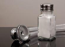 Salt Shaker and Stethoscope Royalty Free Stock Image