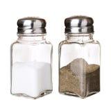 salt shakers för peppar Royaltyfri Fotografi