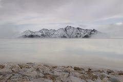 Salt sjö arkivbilder