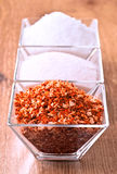 Salt spices Royalty Free Stock Images