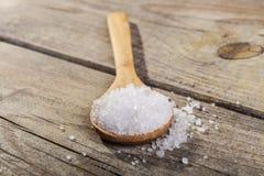 Salt Spoon Stock Photography