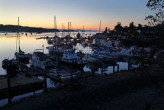 Salt Spring Dawn, British Columbia Royalty Free Stock Photo