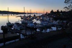 Salt Spring Dawn, British Columbia Royalty Free Stock Photo