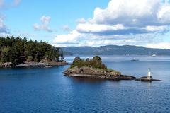 Salt Spring Island Stock Photography