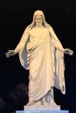 salt staty för christ stadsjesus lake Royaltyfri Bild