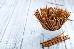 Salt Sticks (close-up shot) royalty free stock image