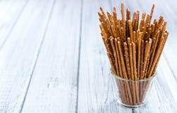 Salt Sticks (close-up shot) Stock Images