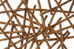Salt sticks closeup Stock Photo