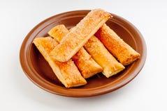 salt sticks för ost royaltyfria foton
