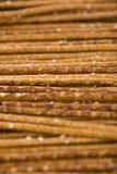 Salt Sticks (food background) Royalty Free Stock Image