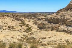 Salt stone mountain. The mountain of salt stone in Djelfa county, Algeria royalty free stock images