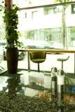 salt tabell för peppar Royaltyfri Fotografi