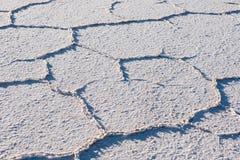 Salt texture Stock Images