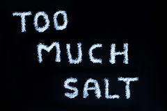 Salt Stock Photography